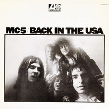 MC5 – Back in the USA album cover