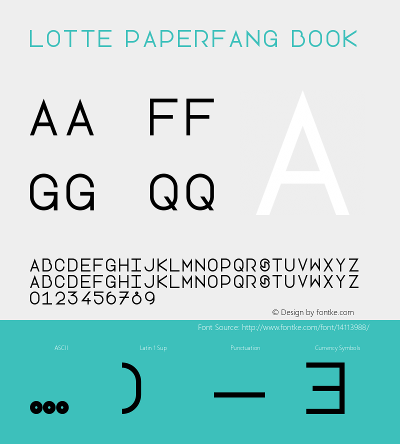 Lotte Paperfang Book Version 1.0图片样张